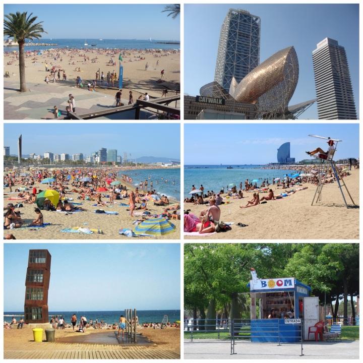 2012 - Barcelona Beach