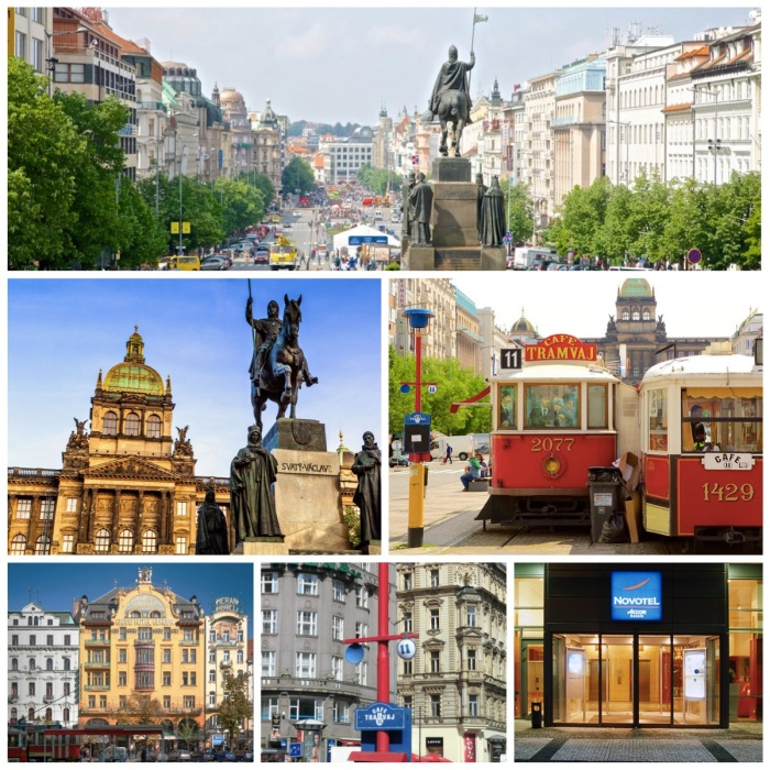 St Wenceslas Square - Prague