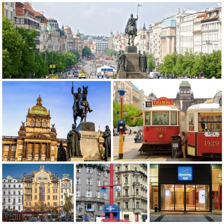St Wenceslas Square - Prague