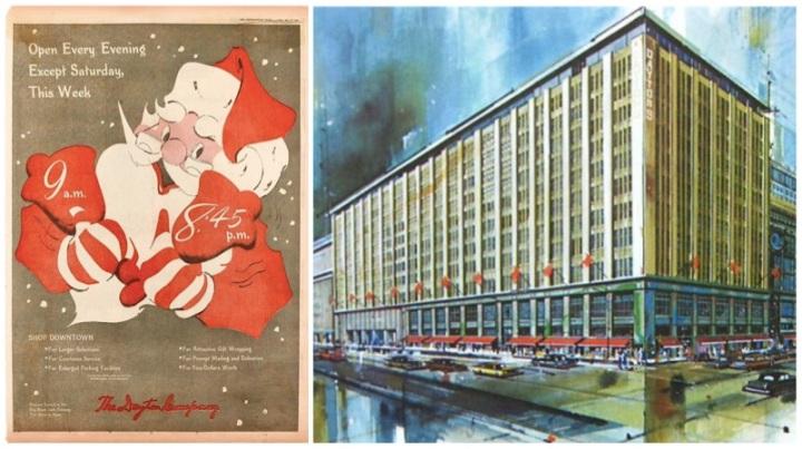 Dayton's Ad + Building